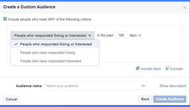 Facebook sẽ cho phép các nhãn hiệu nhắm mục tiêu quảng cáo đến những người đã trả lời cho các sự kiện trang của họ
