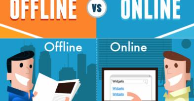 Sự khác nhau cơ bản giữa marketing online và marketing offline